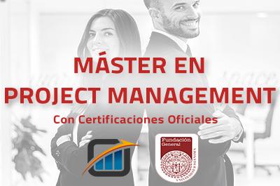 Máster en Project Management - Certificaciones Oficiales