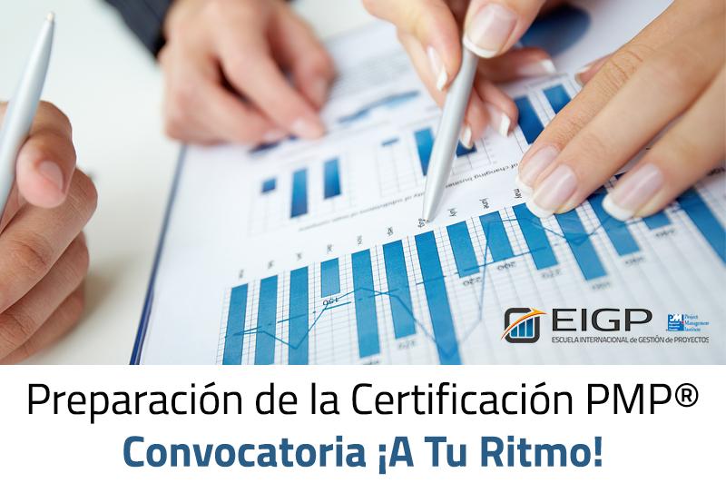 Preparación de la Certificación PMP-PMI ¡A Tu Ritmo!®